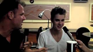 Backstage with Justin Bieber!!