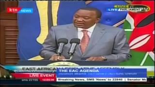 Kenya's President Uhuru Kenyatta Speech To Members Of East African Legislative Assembly - Full
