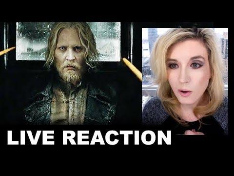 The Crimes of Grindelwald Trailer REACTION