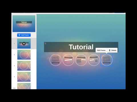 Prezi Tutorial: Student Instructions using the iPad App by Jen C.