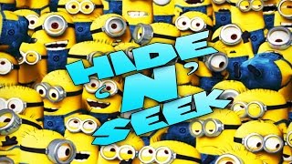 Minecraft Mods - MORPH MOD HIDE AND SEEK - MINIONS ( Modded Minigame)