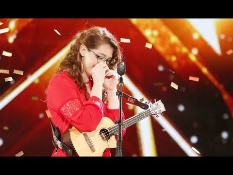 Mandy Harvey: Deaf Singer With Original 'TRY' Gets Simon's GOLDEN BUZZER | America's Got Talent 2017