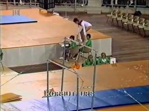 Ольга Корбут на Олимпийских играх 1972 года