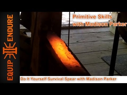 Madison Parker - Here is an introduction video of Madison Parker making a Survival Spear. Custom Made Spears are available in the E2E store http://equip2endure.mybigcommerce....
