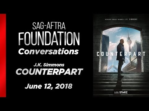 Coversations with J. K. Simmons of COUNTERPART