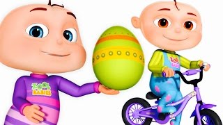 Video Five Little Babies Opening Surprise Eggs | Transport Vehicles For Children | Zool Babies Fun Songs MP3, 3GP, MP4, WEBM, AVI, FLV Juli 2018