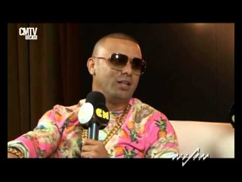 Wisin video Entrevista CM  - 2014