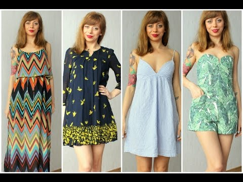 Лятна мода - покупки от магазин за дрехи втора употреба