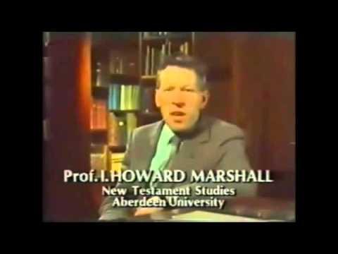 Howard Marshall on Jesus: The Evidence