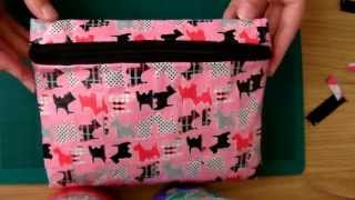 Tutorial: Duct Tape Pencil Case (with zip) - YouTube
