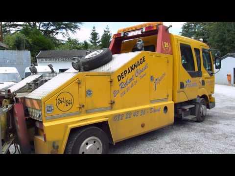 camion pelle d pannage renault midlum 220cdi 2003 km. Black Bedroom Furniture Sets. Home Design Ideas