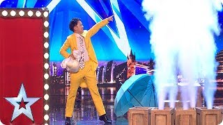Video Wardrobe WIZARDS! Are these the QUICKEST costume changes of all time?! | Auditions | BGT 2018 MP3, 3GP, MP4, WEBM, AVI, FLV Juli 2018