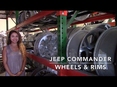 Factory Original Jeep Commander Wheels & Jeep Commander Rims – OriginalWheels.com
