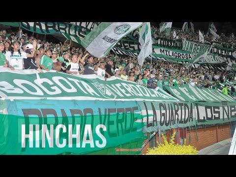 HINCHADA VERDOLAGA - Los del Sur - Atlético Nacional