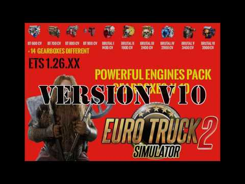 Pack Powerful engines + gearboxes v10.0 for 1.26.x
