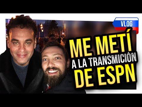 Me metí a la transmisión de ESPN en el Francia vs Bélgica