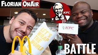 Video BATTLE: KFC (Double Tacos)  vs MC DO (New Wraps) - VLOG #578 MP3, 3GP, MP4, WEBM, AVI, FLV Juni 2018