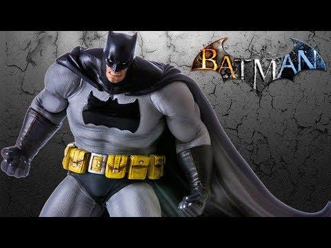 UNBOXING: Batman Arkham Knight DLC Series Dark Knight 1/10 Art Scale Iron Studios