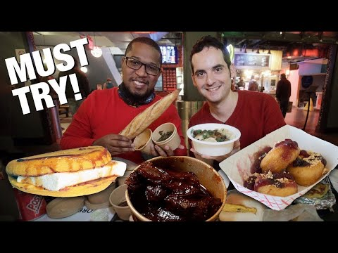 NYC's Best Food Hall? видео
