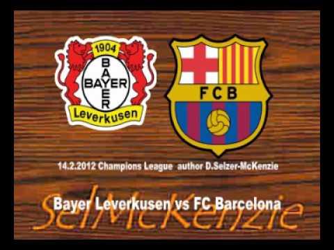 Bayer Leverkusen vs FC Barcelona Champions League 14.2.2012 SelMcKenzie Selzer-McKenzie