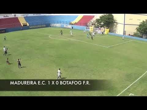 Kinoplex - GOLS - BOTAFOGO F.R. 1 X 2 MADUREIRA E.C. - TAÇA GUANABARA SUB 17 2019