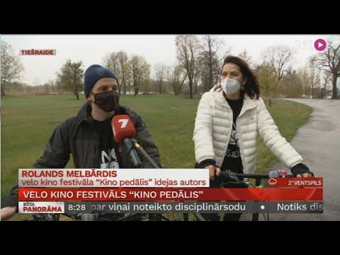 """Velo un kino festivāls """"Kino Pedālis"""" 2021"""