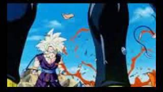 Gohan se enoja y pelea contra cell