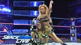 Nonton Wwe Smackdown Live 10 11 16 Carmella Vs Naomi   Nikki Bella Attacks Carmella   Film Subtitle Indonesia Streaming Movie Download