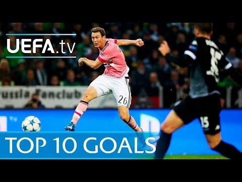 i dieci gol più belli della uefa champions league 2015-2016
