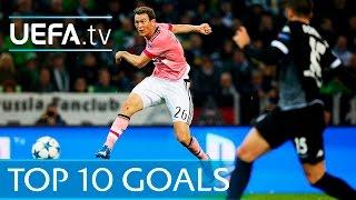 Download Video UEFA Champions League 2015/16 - Top ten goals MP3 3GP MP4