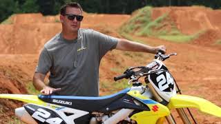 7. 2018 Suzuki RM Z250  Technical Briefing  Awesome Motocross