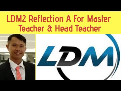 LDM2 REFLECTION-A for LAC Leaders, LDM2