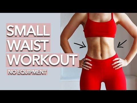 Small Waist Workout (10 Mins)