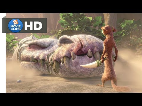 Ice Age 3 Hindi (16/18) Buck Vs Rudy Battle Scene MovieClips