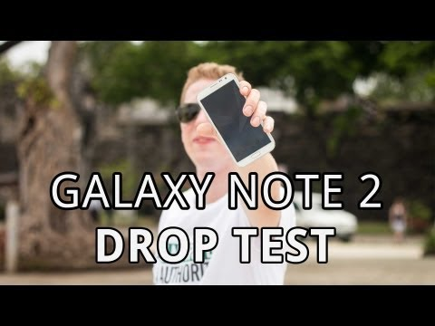Samsung Galaxy Drop - Will Samsung's hottest new phablet, the Galaxy Note 2 GT-N7100, suffer the same fate as the Samsung Galaxy S3 GT-I9300 that we drop-tested recently? -Samsung...