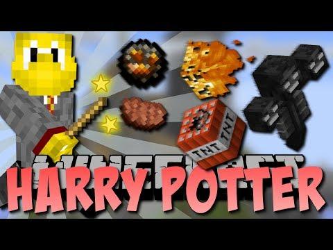 NEUE HARRY POTTER MOD!! (Zauberstäbe, Flüche und mehr!) (видео)