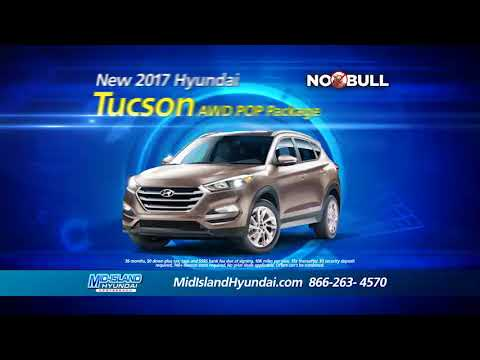 No Bull at Mid-Island Hyundai - $0 Down Payment, $0 Security Deposit on all Leases!