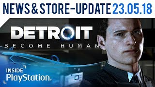 Detroit: Become Human ist ab Freitag im Store! | PlayStation News & Store Update