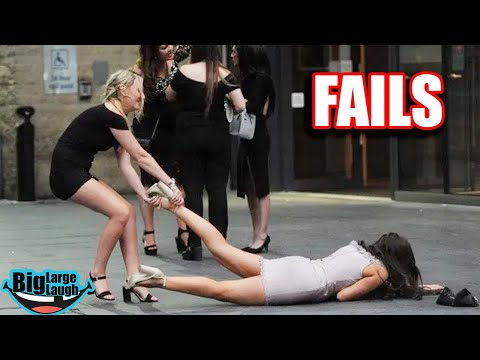 😂 DRUNK GIRLS FAIL DOWN 😂 Fails March 2020 | Funny Videos Compilation
