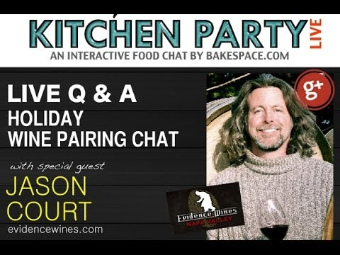 Wine Pairing Chat #KitchenParty