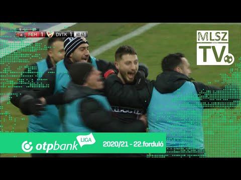 Gheorghe Grozav 2. gólja (Fehérvár - DVTK, 22. forduló)