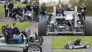 Fachhochschule Südwestfalen : Mit dem E-Auto auf die Übungsstrecke