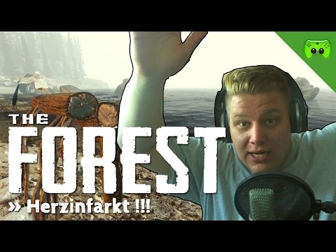 THE FOREST # 15 - Herzinfarkt «» Let's Play The Forest | HD