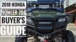 5. 2018 Honda Pioneer 700 Model Lineup Explained / Differences | UTV / Side by Side Buyer's Guide