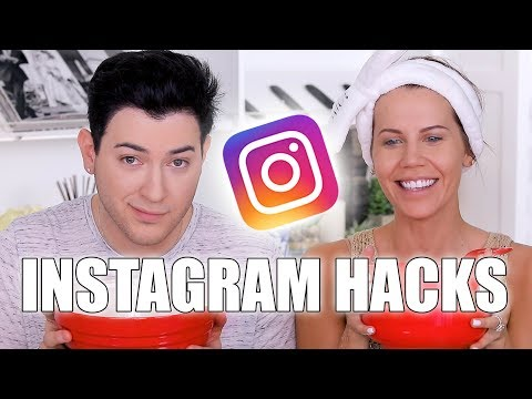 INSTAGRAM BEAUTY HACKS TESTED with MannyMua