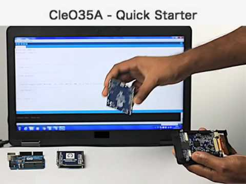 Cleo35 - getting started