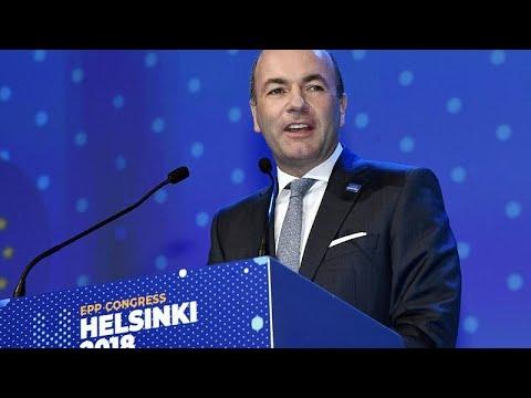 Europawahl: CSU-Politiker Weber wird EVP-Spitzenkandidat