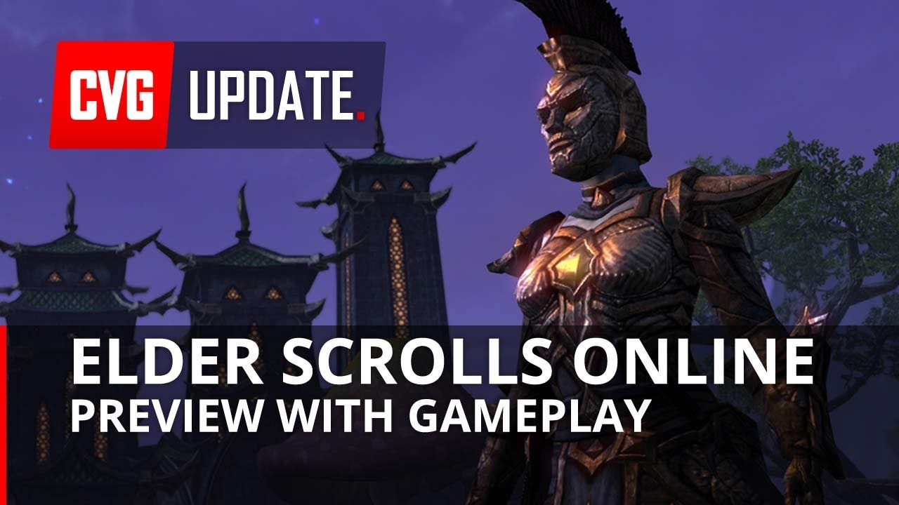 Elder Scrolls Online: видео - TESO NEW Gameplay Preview - First person, combat and more!