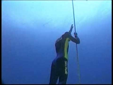 Umberto Pelizzari - record in apnea a -150m