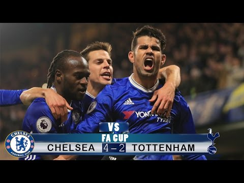 ▶Chelsea vs Tottenham◀ - ALL GOALS & EXTENDED HIGHLIGHTS - 4:2 (22.04.2017) Semi-Final HD